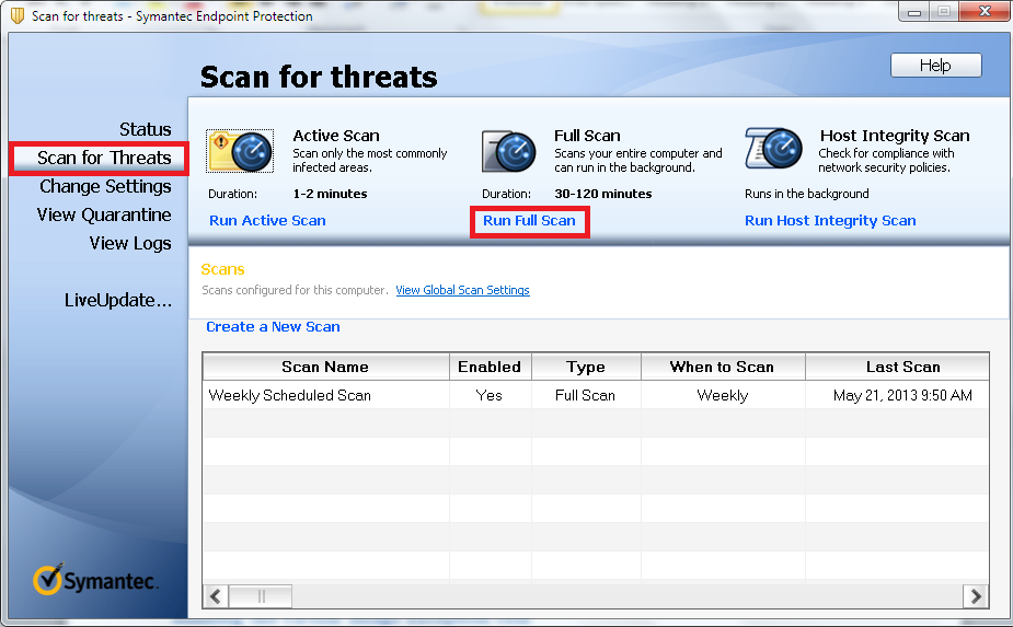 Symantec Endpoint Protection Integration with VMware Horizon